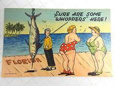 Vtg Linen Postcard Curt Teich Cartoon Cards Lot of 3 Unposted  #8335