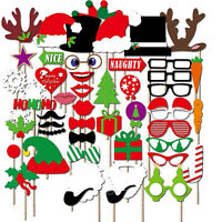2018 new years eve party christmas photo booth props mustache stick 50pcs photo booth props diy mustache on a stick christmas birthday party decor solutioingenieria Images