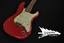 Fender Custom Shop 1963 Relic Stratocaster - Faded Dakota Red 600