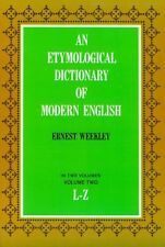 Etymological Dictionary of Modern English (L-Z) (D