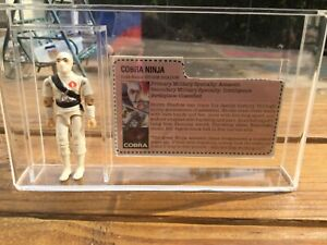 Vintage 1984 G.I. Joe Storm Shadow 100% Complete Nice! Mail aWay