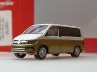 Herpa VW T6 Multivan Bicolor, candyweiß / kurkumagelb metallic - 038730 - 1:87