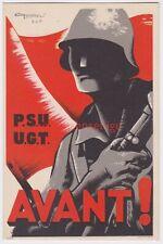 More details for spain spanish civil war u.g.t. p.s.u. avant! republican propaganda pc - sp22