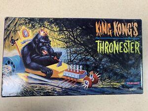 1998 Polar Lights KING KONG'S THRONESTER Monster Model 1/12 PN - 5016