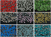 10Gross 1440Pcs Top Quality Czech Crystal Round Rhinestones Iron Hotfix Flatback