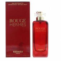 100ml Hermes Rouge Eau de toilette EDT 3.3 oz Perfume Mujer Descatalogado