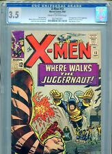 1965 MARVEL X-MEN #13 2ND APPEARANCE JUGGERNAUT CGC 3.5 CR-OW BOX13