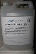 5 litres of Pond Dechlorinator - Massive savings - MF Aquatics - Free Delivery