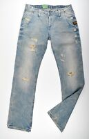 G-STAR RAW, Lyric Loose Straight, Used Vintage Look Jeans, W26 L32 Neu !!