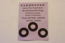 """CARBONTEX CARBON UPGRADE""  PENN SS7500 SS8500 SS750 SS850 REEL DRAG WASHER SETS"