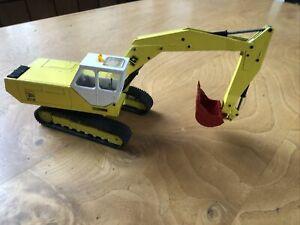 "Model of JCB 807 Single Excavator Model 141by NZG West Germany 13"" 33cms No Box"