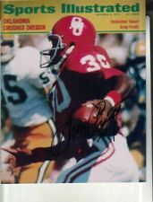 Greg Pruitt Autographed 8x10 Photo Oklahoma Sooners Sports Illustrated Cover