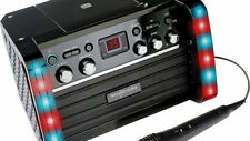 Easy Karaoke EKS-212 Karaoke Machine with LED Lights and Built-In Speakers