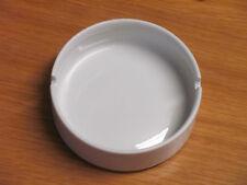 Aschenbecher  Porzellan rund / Weiß