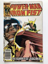 Power Man and Iron Fist #107 July 1984 Luke Cage Defenders Vintage