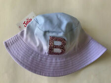 NEW Justice Girls Hat Initial B Glitter Tie Dye One Size
