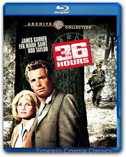 36 Hours Blu-ray New James Garner Eva Marie Saint Rod Taylor