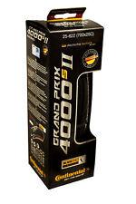 New 2016 Continental Grand Prix 4000s II Black 700x25c Road Bike Clincher Tire