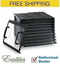 Excalibur 3926TCDB 9-Tray Dehydrator the Timer series,Free Shipping, BRAND NEW
