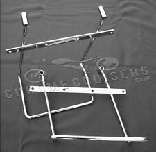 Yamaha XVS1100 DragStar Classic Custom Chrome Saddlebag pannier support brackets