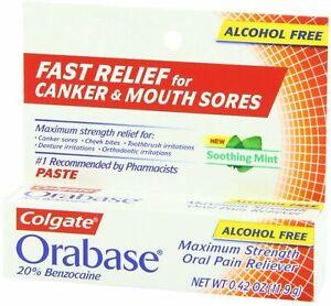 *Rare find * Colgate Orabase Paste 11.9 Gram expired