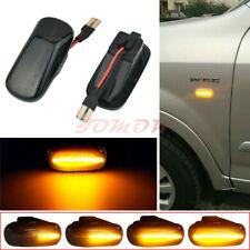 Smoked Led Lamp Side Marker Light For Honda Civic Accord Acura Integra Rsx