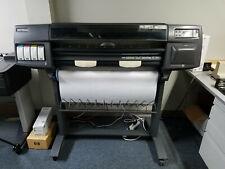 Hewlett Packard Designjet 1050c C6074a 36 Large Format Printer Plotter 100 240v