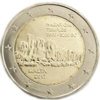 2 euro Malta 2017 UNESCO: Hagar Qim
