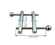 Stainless Steel Male  Ball Stretchers Clamp A173
