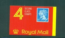 Great Britain 1990 60p barcode Double Head Machin Penny Black Anver. Booklet JA1