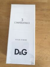 3 L'Imperatrice Pour Femme by Dolce & Gabanna D&G  Perfume 100ml EDT Spray  NEW