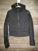 Alo Yoga Perk Jacket Womens Size Medium Black