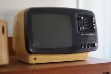 Retro NEC Portable TV, Rare, CRT, Radio Function, Mint and Working Japan Vintage