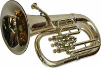 *DEAL* NEW EUPHONIUM BRASS FINISHING Bb WITH FREE BAG AND M/P FAST SHIPPING ****