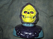 1984 Skeletor Mattel Motu He-Man Bank Orig Owner Rare