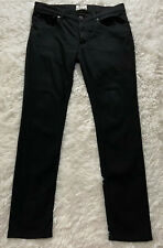 ACNE STUDIOS Ace Stay Cash jeans Mens Size 34/28 Skinny Jeans Jet Black