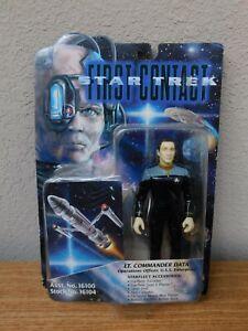 Star Trek First Contact Lt. Commander Data Stock No. 16104 Action Figure