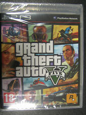 GTA 5 GRAND THEFT AUTO V  PS3  NUOVO SIGILLATO IMPORT