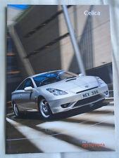 Toyota Celica Gama Folleto de mayo de 2003