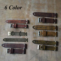 Stitching  Handmade Strap  Watch Band Distressed Leather Strap  Vintage Style