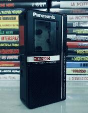 PANASONIC RN-1050 MICROCASSETE RECORDER 2-SPEED - TESTATO E FUNZIONANTE 100%
