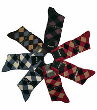 Pantherella Mens Harlequins Sea Island Cotton Mid-Calf Socks 7-pair Couture Pack