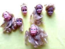 barbie vintage superstar lotto teste magic curl skipper pink pretty malibu