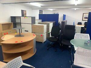 Office Furniture!!   Grab A Bargain (office Desks £69 Each)