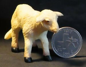 Dollhouse Miniature Young Sheep Animal 1:12 Farm Ranch Country Rodeo  #A0846