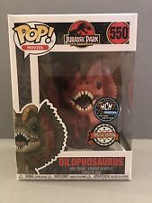 FUNKO POP! Jurassic Park 'Dilophosaurus' MCM Comic Con Exclusive!