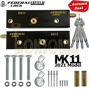 Enfield Federal Up And Over Garage Door Bolts Locks High Security Mk11 2021