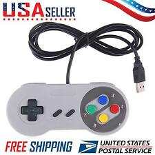 Latest SNES Controller USB For PC/Mac Super Nintendo Games Retro Classic Gamepad