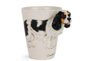 Cavalier King Charles Gift, Coffee Mug Handmade by Blue Witch
