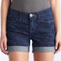 Women's 14 Rock & Republic Denim Jean Shorts - Dark Blue Camo